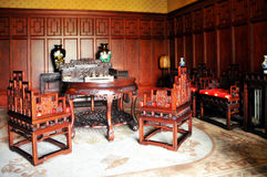 Puppet Palace Chinese Room Royalty Free Stock Photo