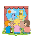 Puppet Show Stock Photography