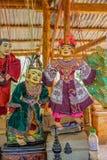 Puppet souvenirs Stock Images