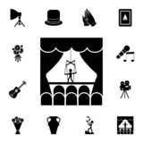puppet theater icon. Detailed set of theater icons. Premium graphic design. One of the collection icons for websites, web design, vector illustration