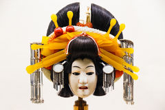 The puppet that used in Bunraku (japanese Puppet Play royalty free stock images