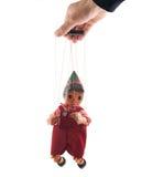 Puppet on white Royalty Free Stock Photos