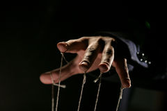 Puppeteer stock photo