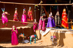 Puppets Royalty Free Stock Images
