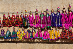 Puppets in Jaisalmer Royalty Free Stock Image
