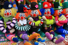 Puppets for sale Royalty Free Stock Photo