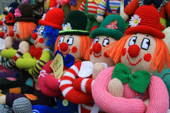 Puppets for sale Royalty Free Stock Images