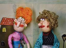 Puppets Stock Image