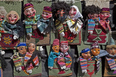 Puppets in Uzbekistan Royalty Free Stock Photo