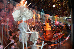 Puppets Window Display Printemps 2015 Royalty Free Stock Image