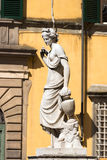 Pupporona Statue in Lucca Italy Royalty Free Stock Photo