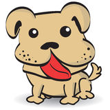 Puppy. Cute Puppy Dog Vector Illustration Royalty Free Stock Photography
