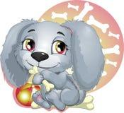 Puppy vector illustratie