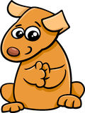 Puppy cartoon character Stock Photos