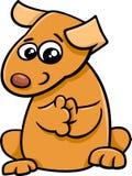 Puppy cartoon character Stock Photos
