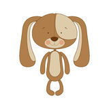 Puppy cartoon icon image. Vector illustration design Royalty Free Stock Images