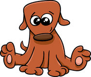 Puppy cartoon illustration Royalty Free Stock Photography