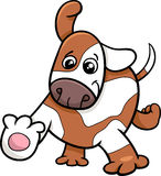 Puppy dog cartoon character Stock Photo