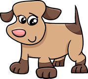 Puppy dog cartoon illustration Royalty Free Stock Photography
