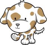 Puppy Dog Vector. Cute Puppy Dog Vector Illustration Stock Image