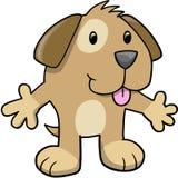 Puppy Dog Vector Illustration. Cute Puppy Dog Vector Illustration Royalty Free Stock Photo