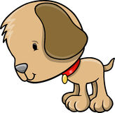 Puppy Dog Vector Illustration. Cute Puppy Dog Vector Illustration Royalty Free Stock Photography