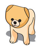Puppy illustration Royalty Free Stock Photo