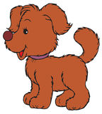 Puppy (vector clip-art) Royalty Free Stock Photography