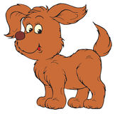 Puppy (vector clip-art) Royalty Free Stock Photo