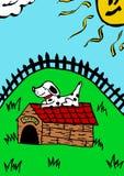 Puppyhuis Royalty-vrije Stock Afbeeldingen