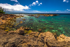 Free Pupukea Sharks Cove Royalty Free Stock Images - 77287889