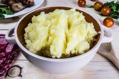 Purè di patate Immagine Stock Libera da Diritti