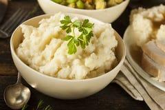 Purè di patate cremose casalinghe Immagine Stock Libera da Diritti