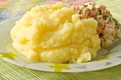 Purée de pommes de terre Images stock
