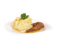 Purée de pommes de terre Photo stock