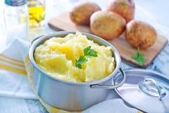 Purée de pommes de terre Photos stock