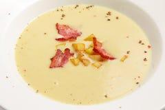 Purée de soupe Photographie stock libre de droits