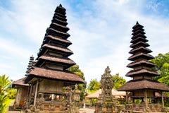 Pura塔曼阿云寺在巴厘岛,印度尼西亚 库存照片