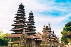 Pura塔曼Ayun,在巴厘岛的美丽的寺庙 免版税库存照片