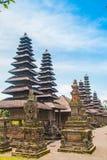 Pura塔曼Ayun, Mengwi,巴厘岛,印度尼西亚 图库摄影