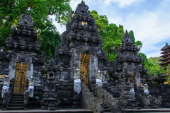 Pura果阿Lawah,棒寺庙,巴厘岛,印度尼西亚 免版税图库摄影