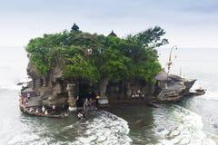 Pura или серия Tanah виска одно из известного места туристической достопримечательности в Бали, Индонезии стоковая фотография rf