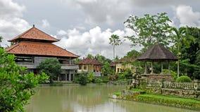 pura ayun taman тюкованный Индонезия Стоковые Фотографии RF