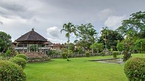 pura ayun taman тюкованный Индонезия Стоковое фото RF
