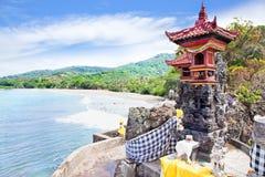 Pura Batu Bolong, Sengigi, Lombok Lizenzfreie Stockbilder