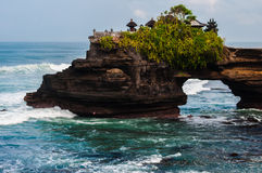 Pura Batu Bolong, Tanah Lot complex Stock Photos