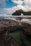 Pura Batu Bolong, Tanah Lot complex Stock Photo
