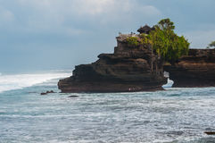 Pura Batu Bolong, Tanah Lot complex Stock Photography