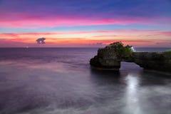 Pura Batu Bolong Temple dans Bali, Indonésie photos stock