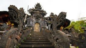 Pura Besakih在巴厘岛 免版税库存照片